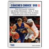 The Ultimate Library of Zone Offenses Vol. 7: The High Set and The Pin-Screen Continuity Zone Offense: John Kimble