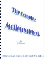 The Complete Motion Notebook: Jeff Bauer