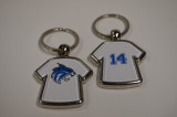 Customized T-Shirt Jersey Key Chain