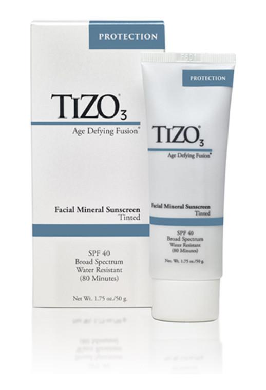 TIZO 3 Facial Mineral Sunscreen Tinted SPF 40
