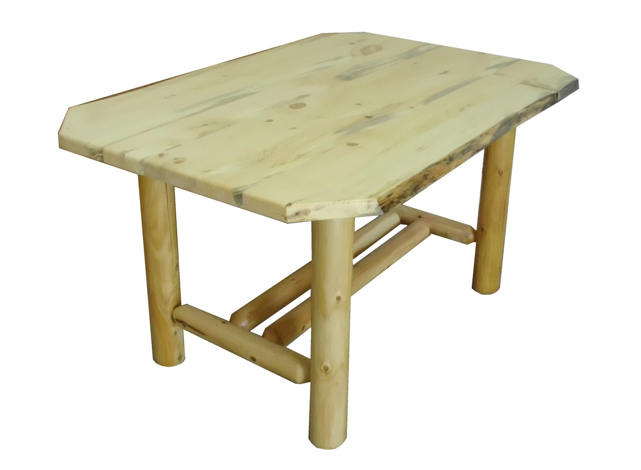 Pleasant Log Dining Table Home Interior And Landscaping Oversignezvosmurscom