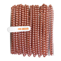 Tangle Free Earbud Covers - Rose Gold