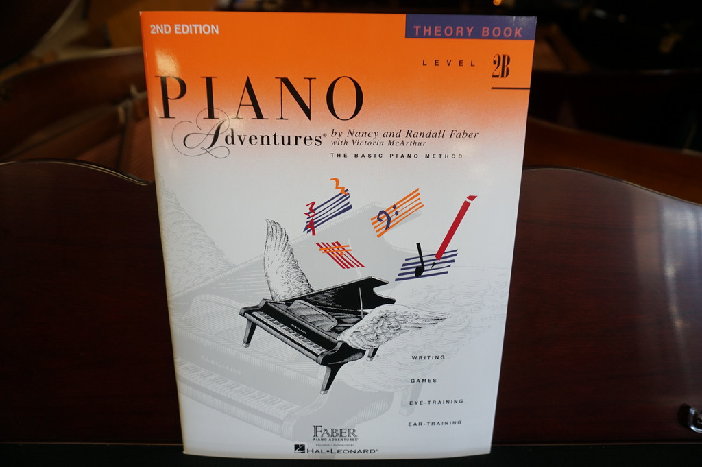 Piano Adventures Theory Book Level 2B (2nd Edition)