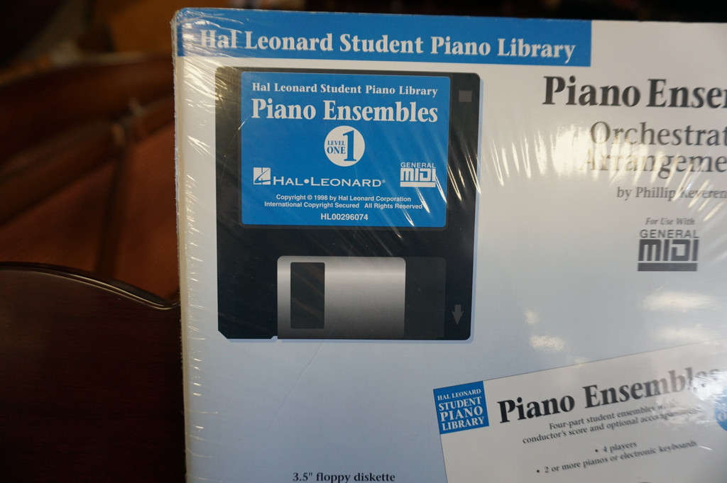 Piano Ensembles Orchestrated Arrangements for Level 1 MIDI