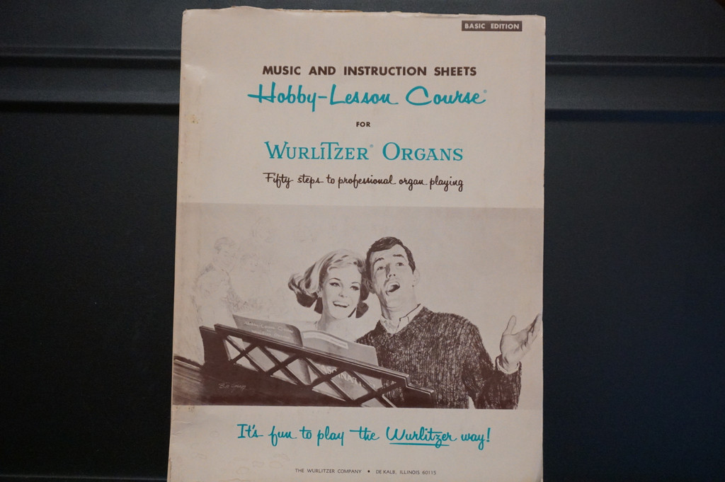 Used Vintage book-The Hobby-Lesson Course (Basic Edition)
