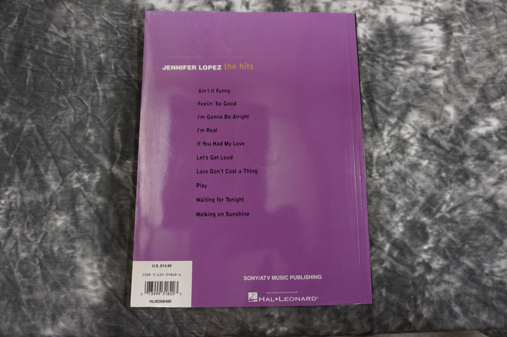 Jennifer Lopez - The Hits Paperback