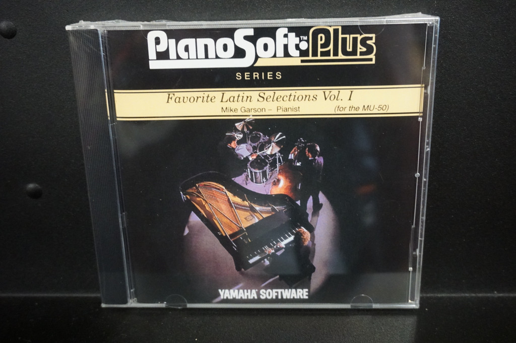 Yamaha Disklavier Piano Soft Plus Favorite Latin Selections Vol. 1 3.5 inch floppy disk