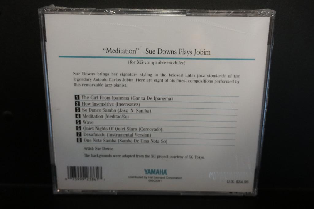 Yamaha Disklavier Artist Series Meditation Piano Soft Plus 3.5 inch floppy Disk