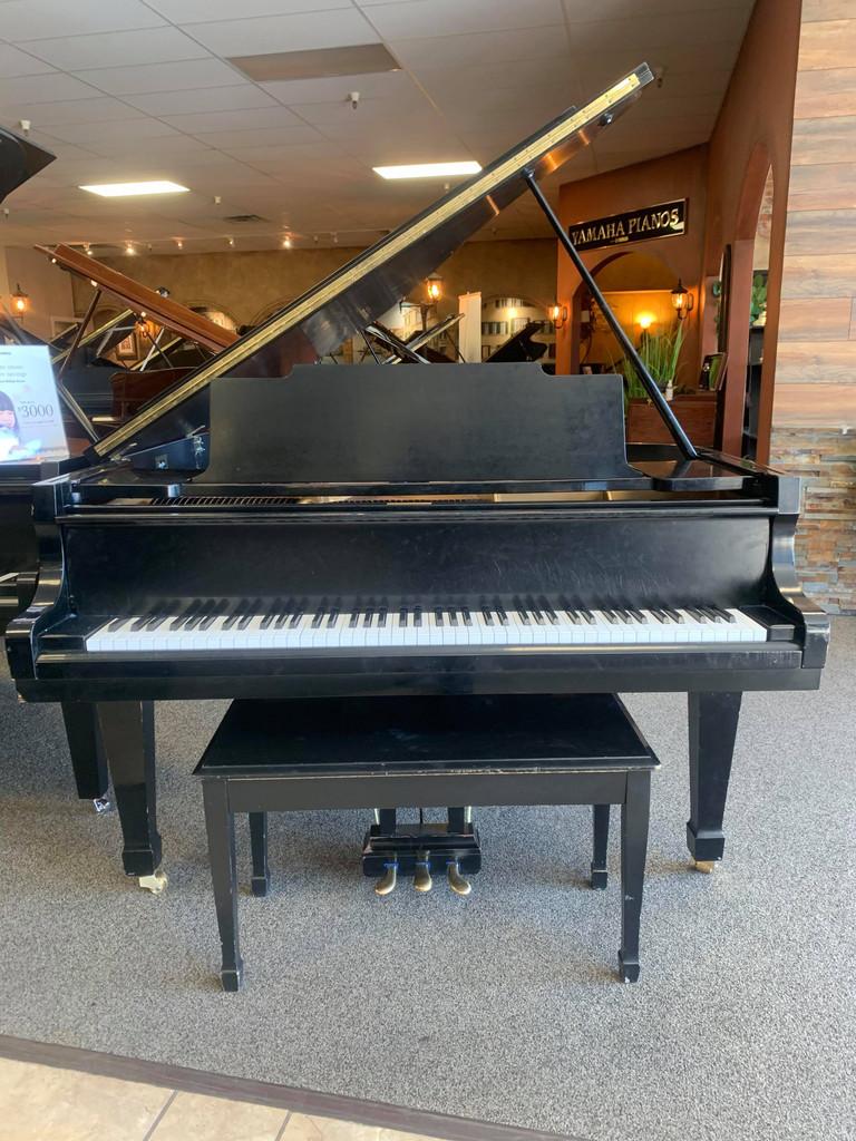 """Kawai KG2C 5'10"""" Ebony Satin Grand Piano with Bench - SOLD"""
