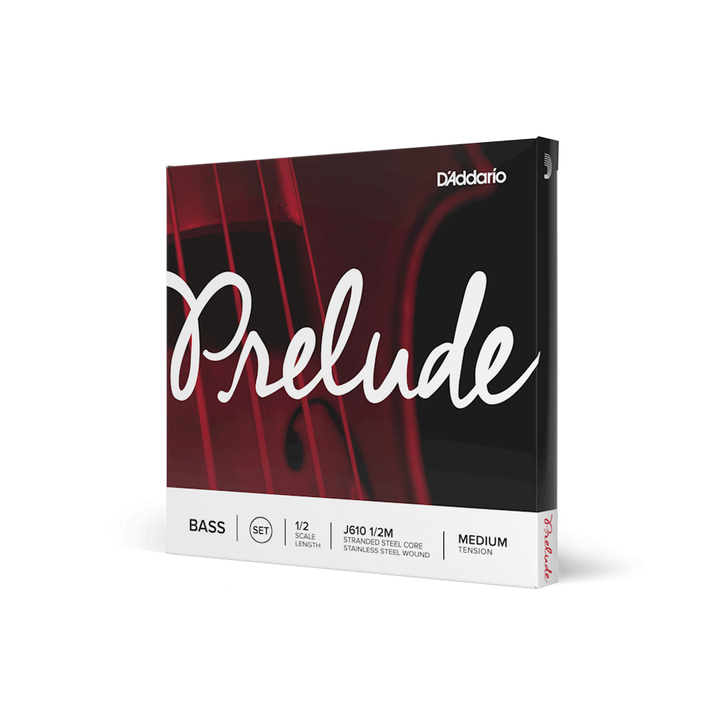 D'Addario Prelude Medium Tension 1/2 Bass String Set