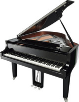 Yamaha C2X Chrome Grand Piano