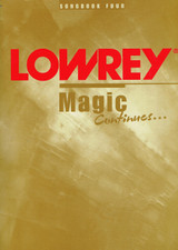 Used Lowrey Magic Continues Songbook Four
