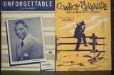 Used Vintage Bundle of piano and voice pieces