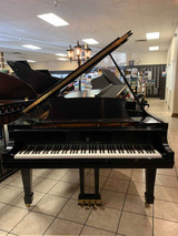 "Used Steinway ""B"" Ebony Satin Grand Piano with Matching Bench - SOLD"