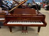 """Kawai GL-20 Brown Sapele Mahogany Baby Grand Piano 5'2"""" with Bench"""
