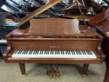 "Yamaha GC1 Satin American Walnut 5'3"" Grand Piano with Bench"