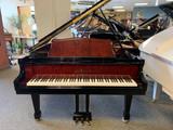 Wm. Knabe & Co. WG54 Classic Grand Piano Ebony Polish with Exotic Bubinga Wood Highlights with Bench