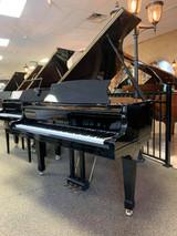 """Sherman Clay Ebony Polish 5'1"""" Grand Piano with Bench - SOLD"""