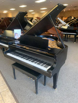 "Kawai KG2C 5'10"" Ebony Satin Grand Piano with Bench - SOLD"