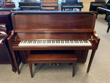 Cable Nelson Upright Piano with Satin Walnut Finish