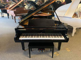 "Young Chang G185 Grand Piano 6'1"" Ebony Polish with Bench - SOLD"