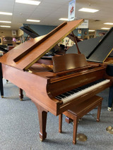 "Used Kohler & Campbell KCG-650D Walnut Satin 6'1"" Grand Piano with Bench"