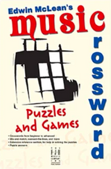 Edwin McLean's Music Crossword Puzzles and Games