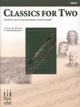 Classics for Two Oboe Book