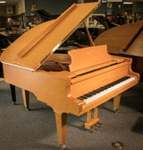 "Schimmel Konzert Series 5'7"" Exotic Birdseye Maple Parlor Grand Piano  w/Bench - Anno 2002"