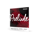 D'Addario Prelude Violin String Set 1/4 Scale Length Medium Tension