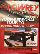 Lowrey EZ1 Vitrual Orchestra Lesson Book