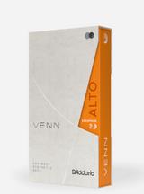 D'Addario Venn Synthetic Alto Saxophone Reed, 2.0