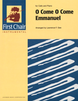 O Come O Come Emmanuel for Cello and Piano