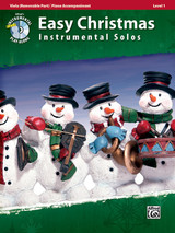 Easy Christmas Instrumental Solos Level for Viola & Piano
