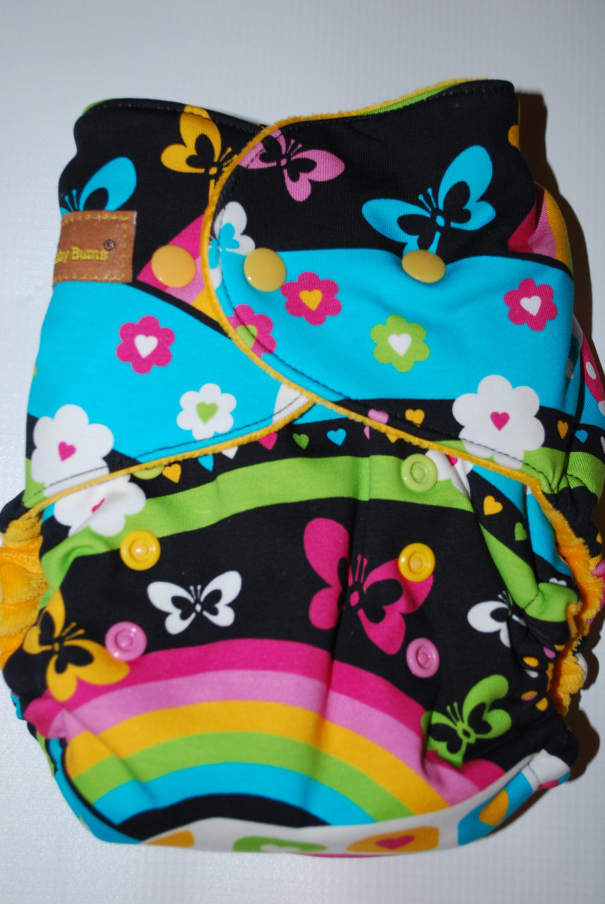 Hybrid and Fitted Cloth Diapers