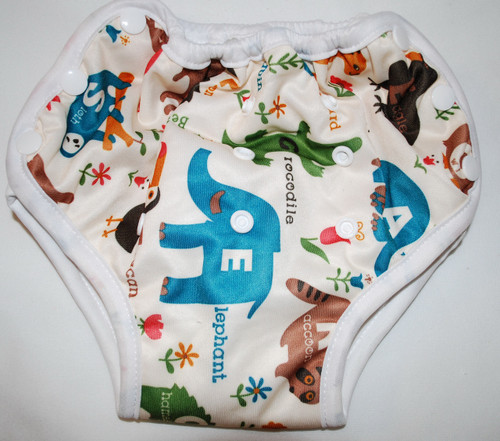 Animal Alphabet Multi Size Waterproof Training Pants