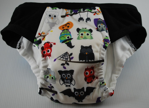 Halloween Owls Partially Waterproof Training Pants 3T/M