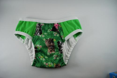 Kitty Meadow Partially Waterproof Training Pants 2T