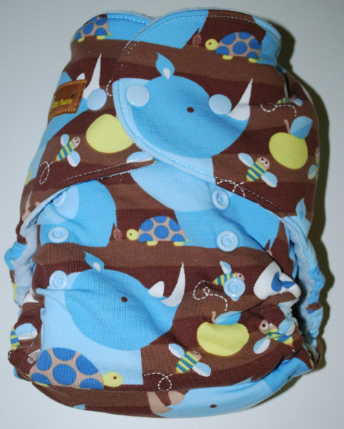 Blue Rhino One Size Hybrid Fitted Diaper