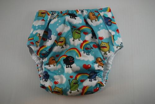 Monsters Flannel Lined Waterproof Training Pants