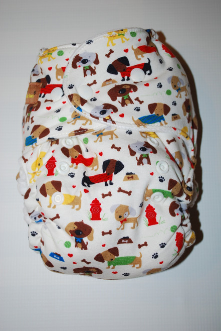 Doggies Hybrid Fitted One Size Diaper