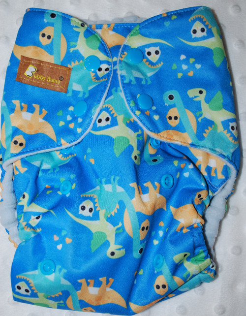 Dinosaurs and Owls All In Two Diaper