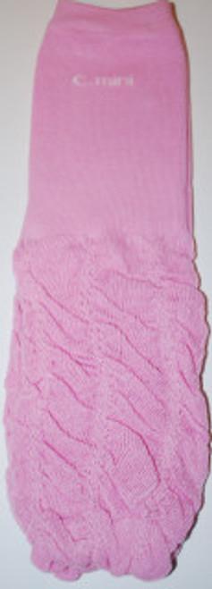 Pink Ruffled Baby Leg Warmers