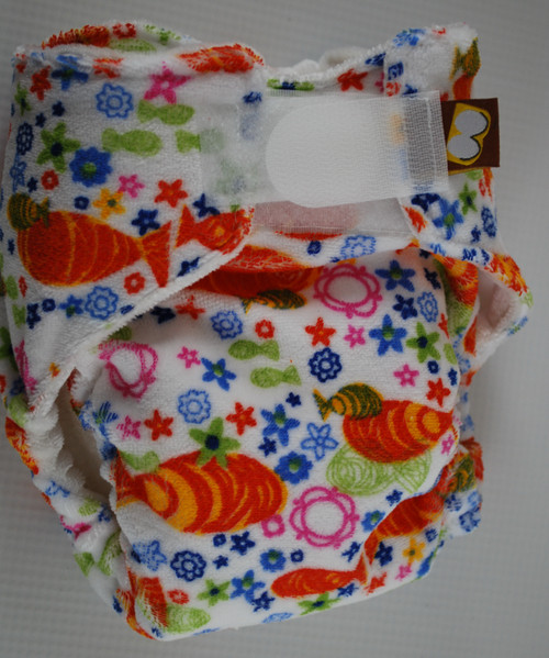 Koi Newborn Fitted Diaper