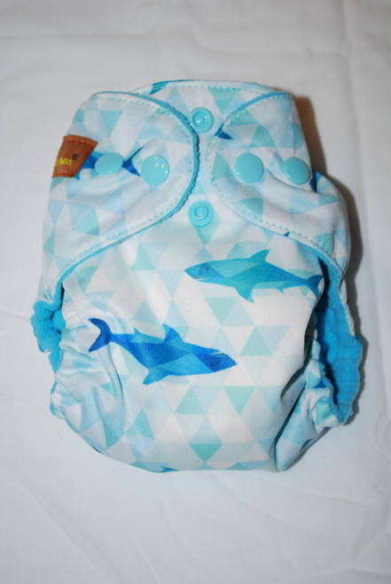 Sharks AIO Newborn Diaper