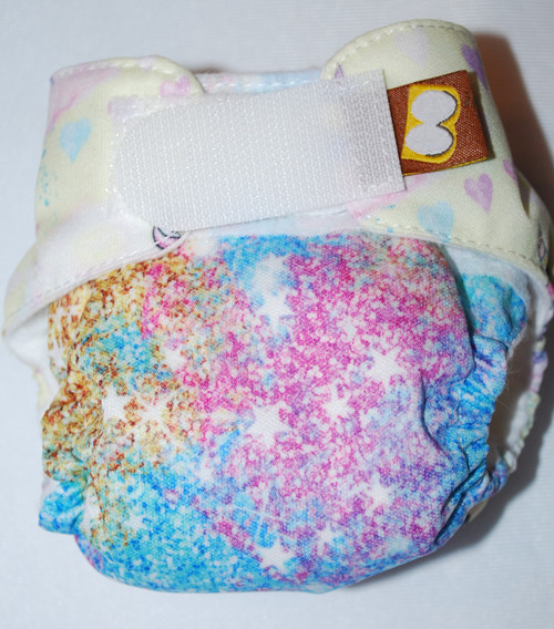 Pixie Dust and Dragons Preemie Diaper (size 1)