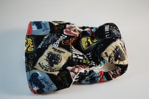 Biker Side Snap Closure AIO MEDIUM Diaper (16-26 lbs.) Extended Rise