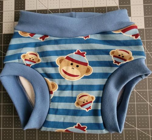Sock monkey cloth training pants