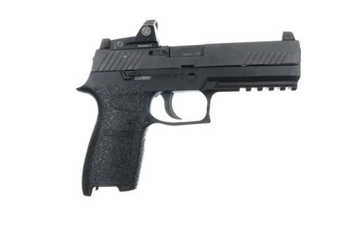 P250/P320/M17/M18 9mm/.357/.40/.45 Rubber-Black