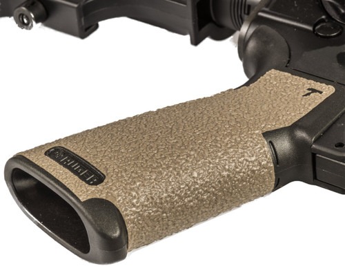 AR-556 and Precision Rifle Pistol Grip Rubber-Moss